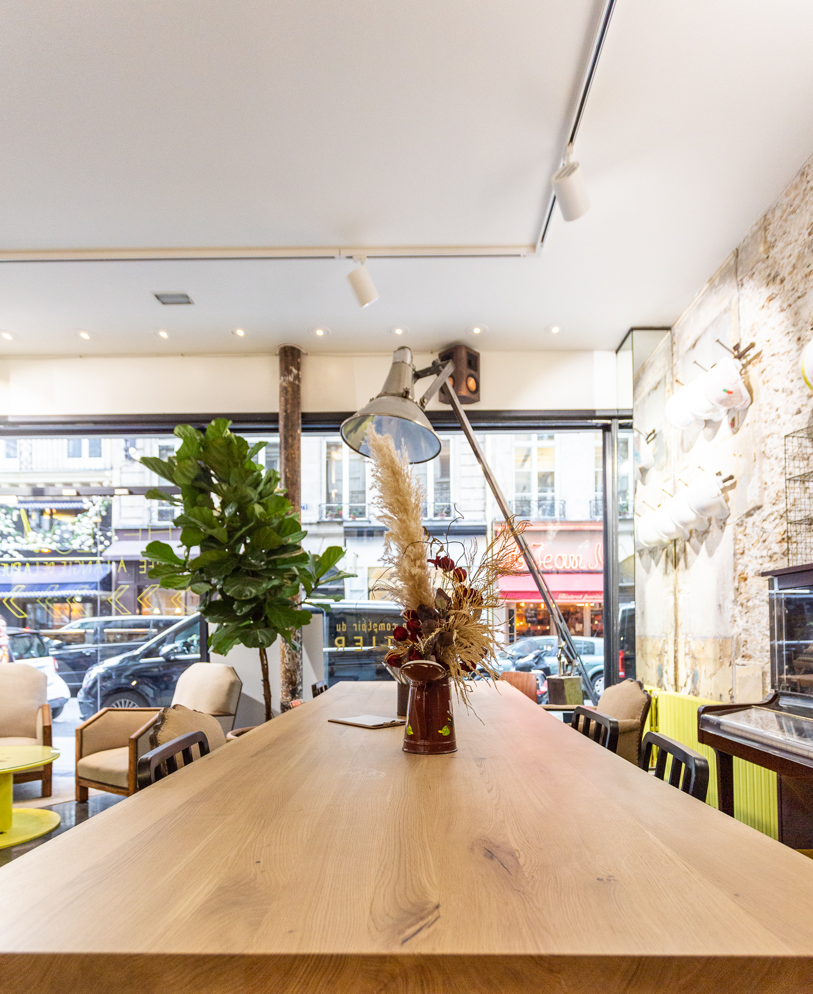 Machefert Group - Bar - Restaurant - Le Comptoir du Chantier - vegan friendly